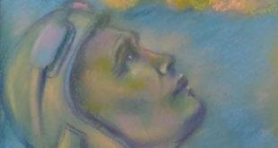 Рисунок липчанки с портретом Водопьянова украсит липецкую многоэтажку