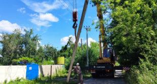 Сети электроснабжения преобразили в крупном липецком садоводстве