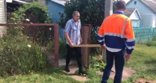 Мужчина, ворующий воду у соседей, набросился на работников водоканала
